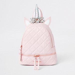 Pinker Einhorn-Rucksack