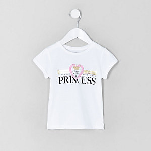 Girls 'little princess' T-shirt