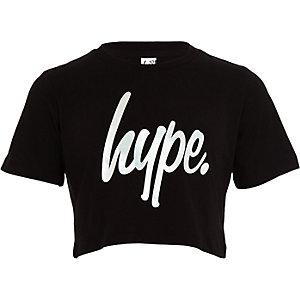 Hype – Schwarzes Crop Top