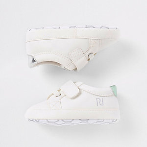 Baby 'You can' white sneakers