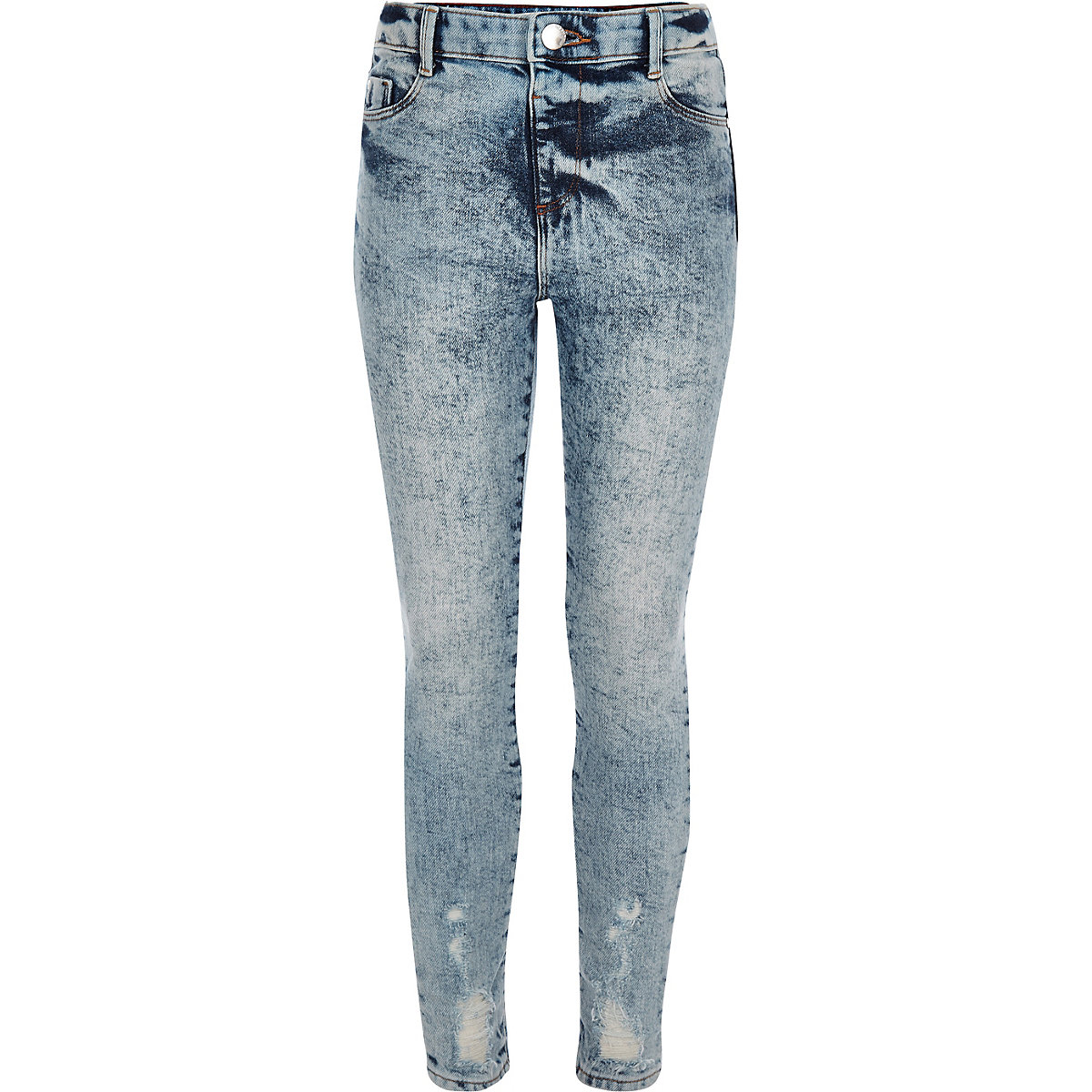 4a6590ee65029 Girls blue Molly acid wash high rise jegging - Jeggings - Jeans - girls
