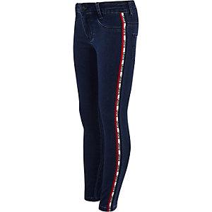 Levi's - Lichtblauwe jeans met indigo bies voor meisjes