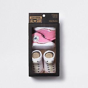 Converse All Star – Pinke Stiefel für Babys