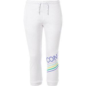 Converse – Weiße Jogginghose mit Logo