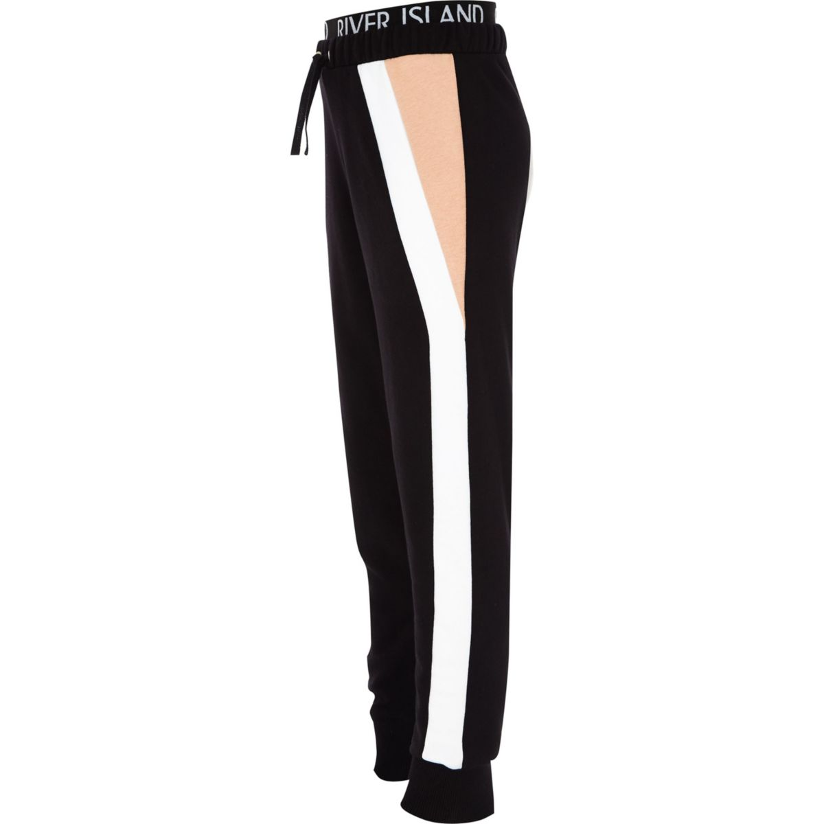 Girls RI Active black color block joggers