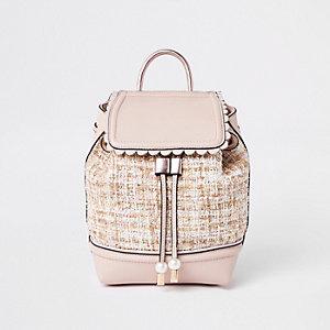 Pinker Rucksack