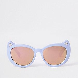 Mini - Paarse cat-eye-zonnebril voor meisjes