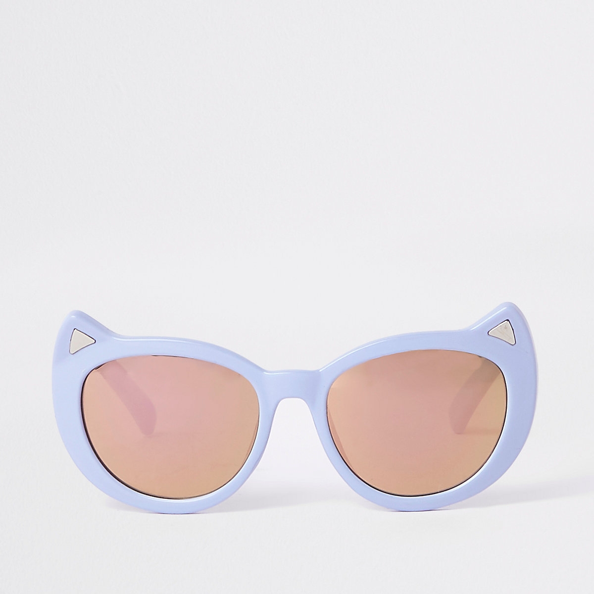 Mini girls purple cat eye sunglasses