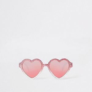 Sonnenbrille in Pink
