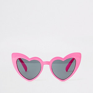 Rosa Katzenaugen-Sonnenbrille
