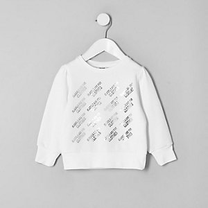 Mini kids Ditch the Label charity sweatshirt