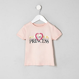"T-Shirt ""Little Princess"" in Rosa"