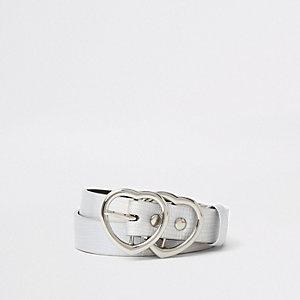 Gürtel in Silber