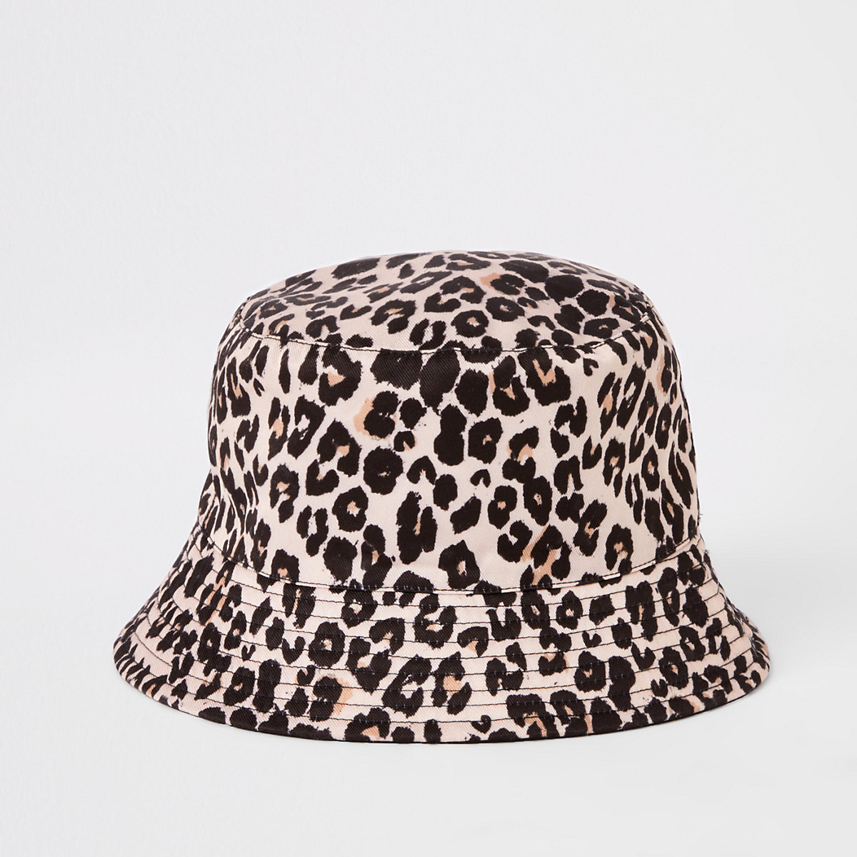 Girls brown leopard reversible bucket hat - Hats - Accessories - girls ba04d3a78cec