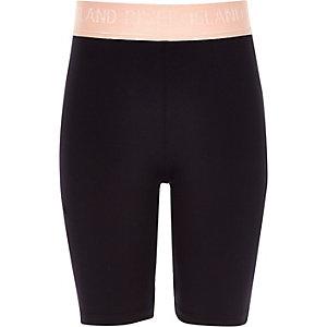 RI Active – Schwarze Rad-Shorts