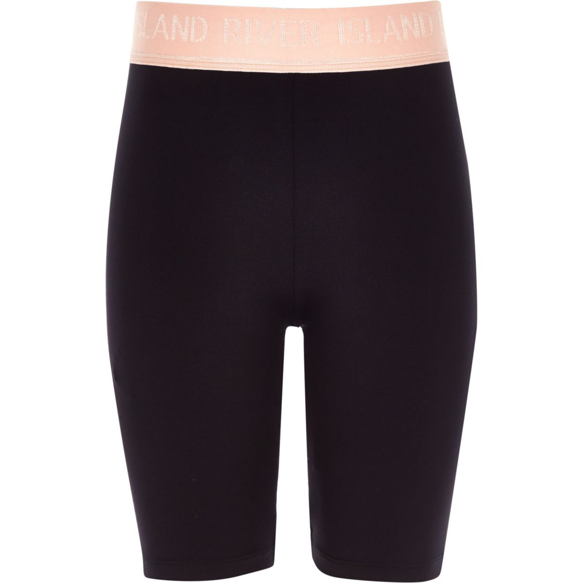 Girls RI Active black cycle shorts