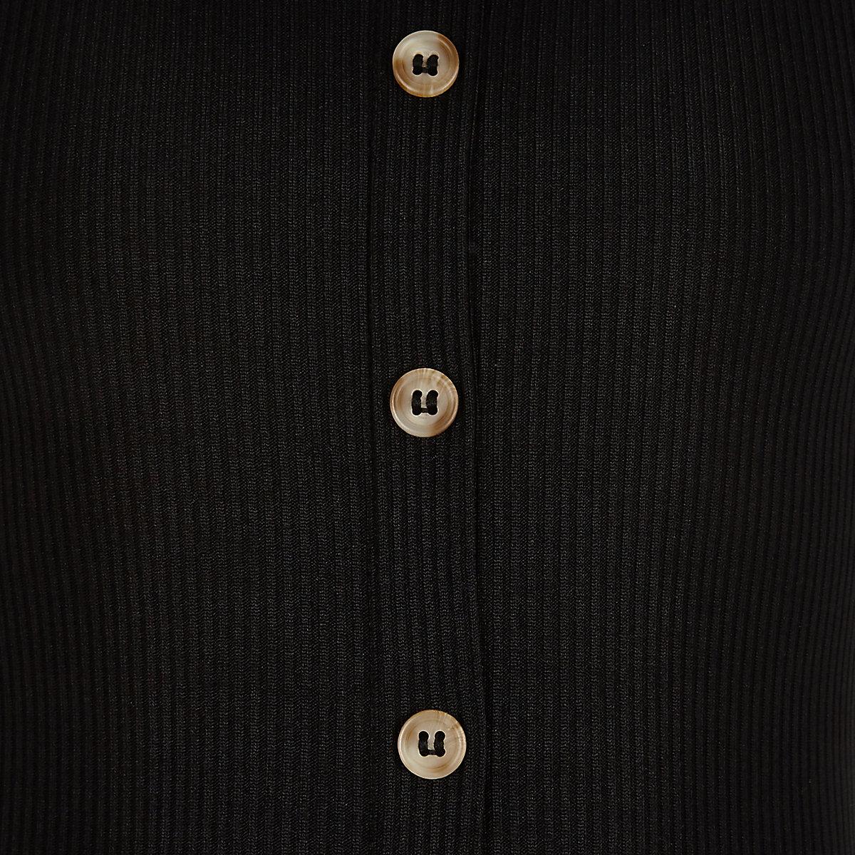 a480d46667b Girls black ribbed tie jumpsuit - Jumpsuits - Playsuits   Jumpsuits ...