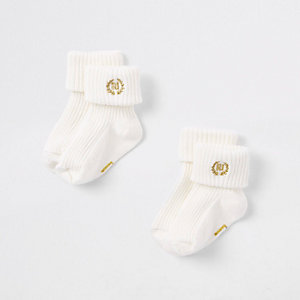 Socken in Creme, Set