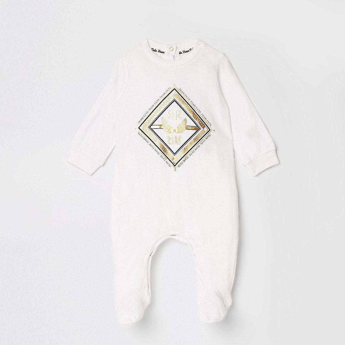Baby cream RI foil print all in one