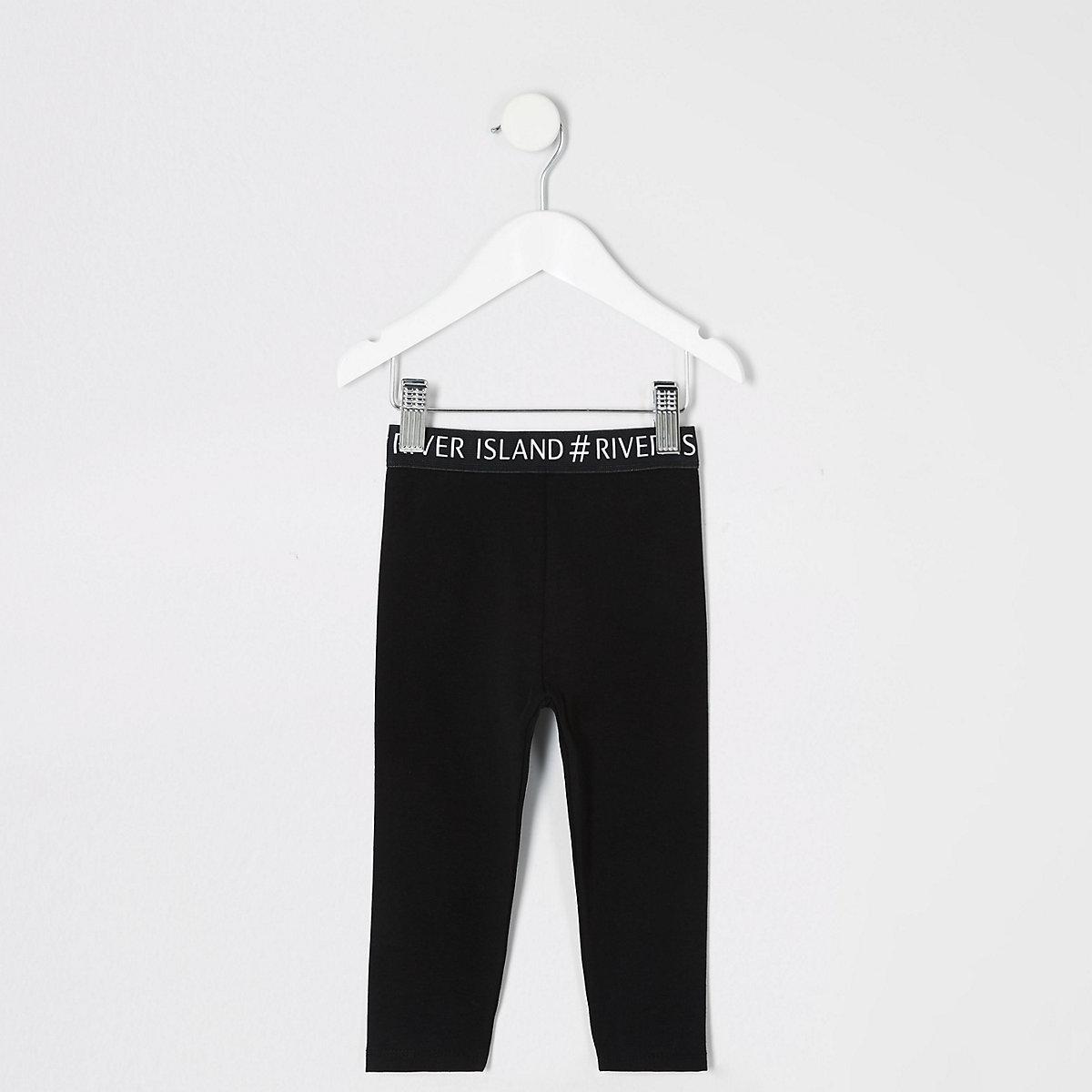 Mini girls RI waistband leggings