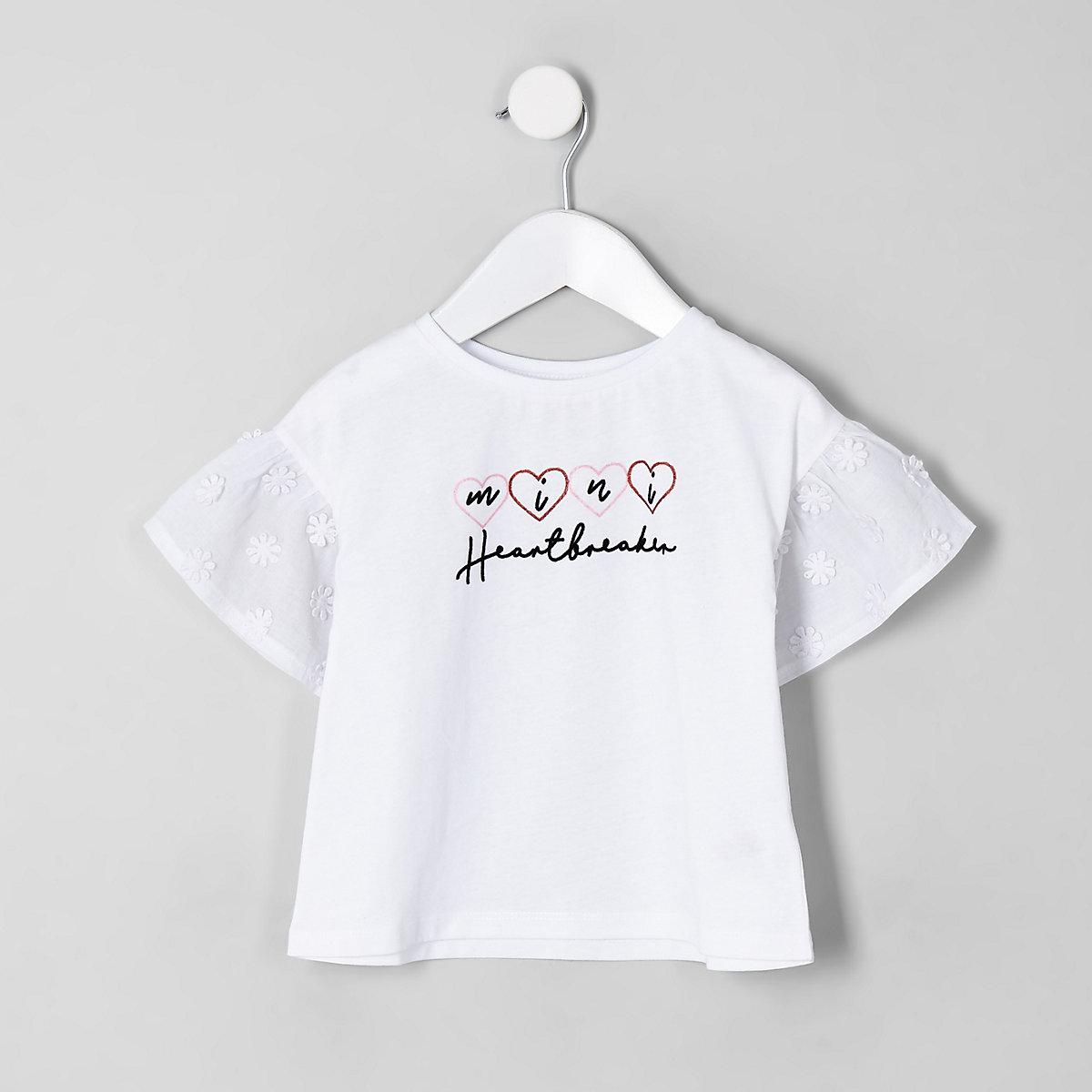 Mini girls 'heartbreaker' T-shirt