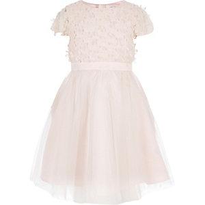 Chi Chi London – Robe de gala à fleurs rose pour fille