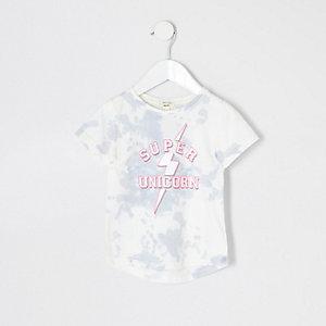 Mini girls 'super unicorn' T-shirt