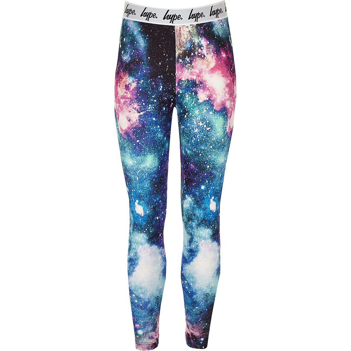 36f937c39 Girls black Hype space leggings - Leggings - girls