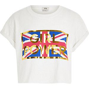 Girls Power – Kurzes T-Shirt