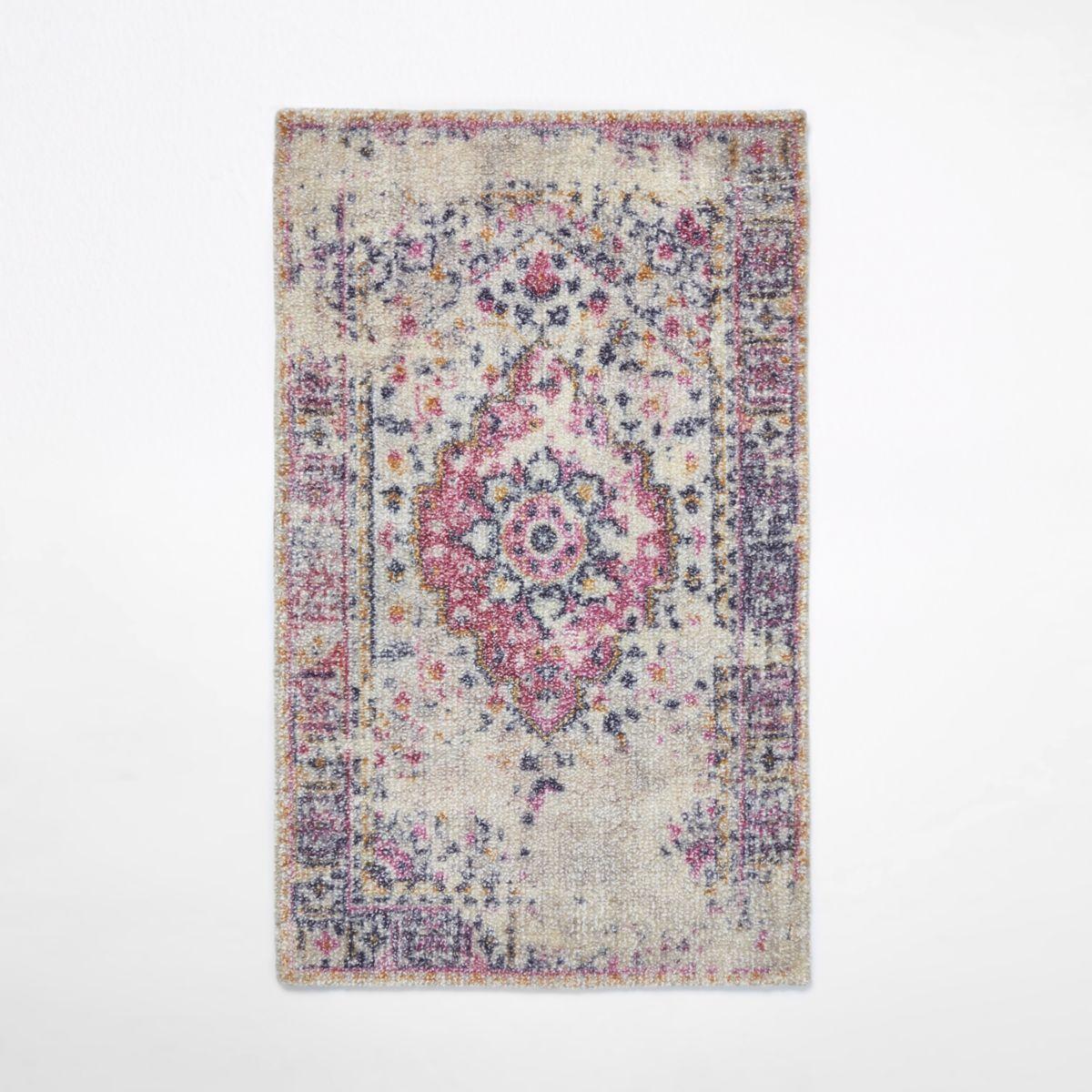 Modern Persian faded rug