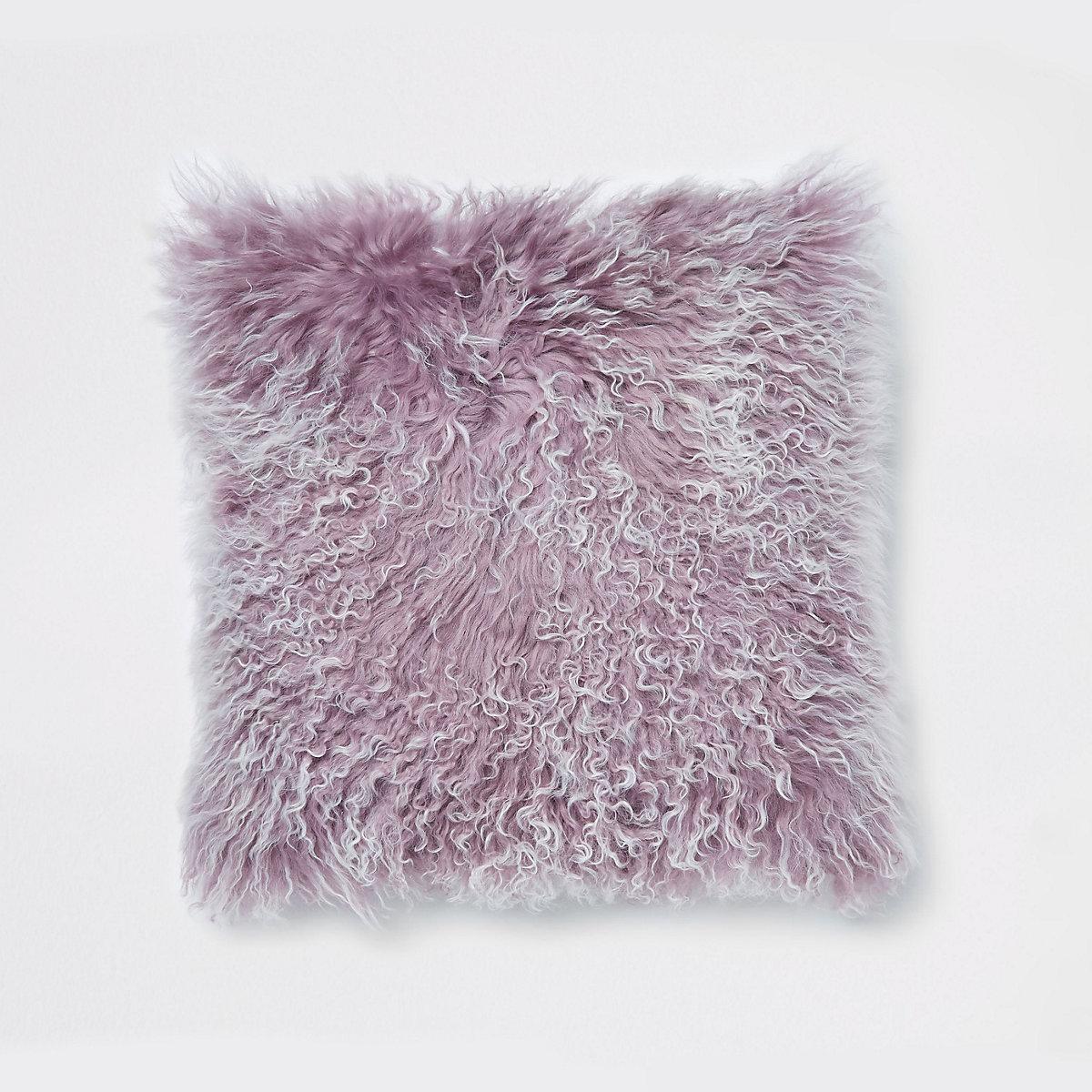 Coussin violet de Mongolie