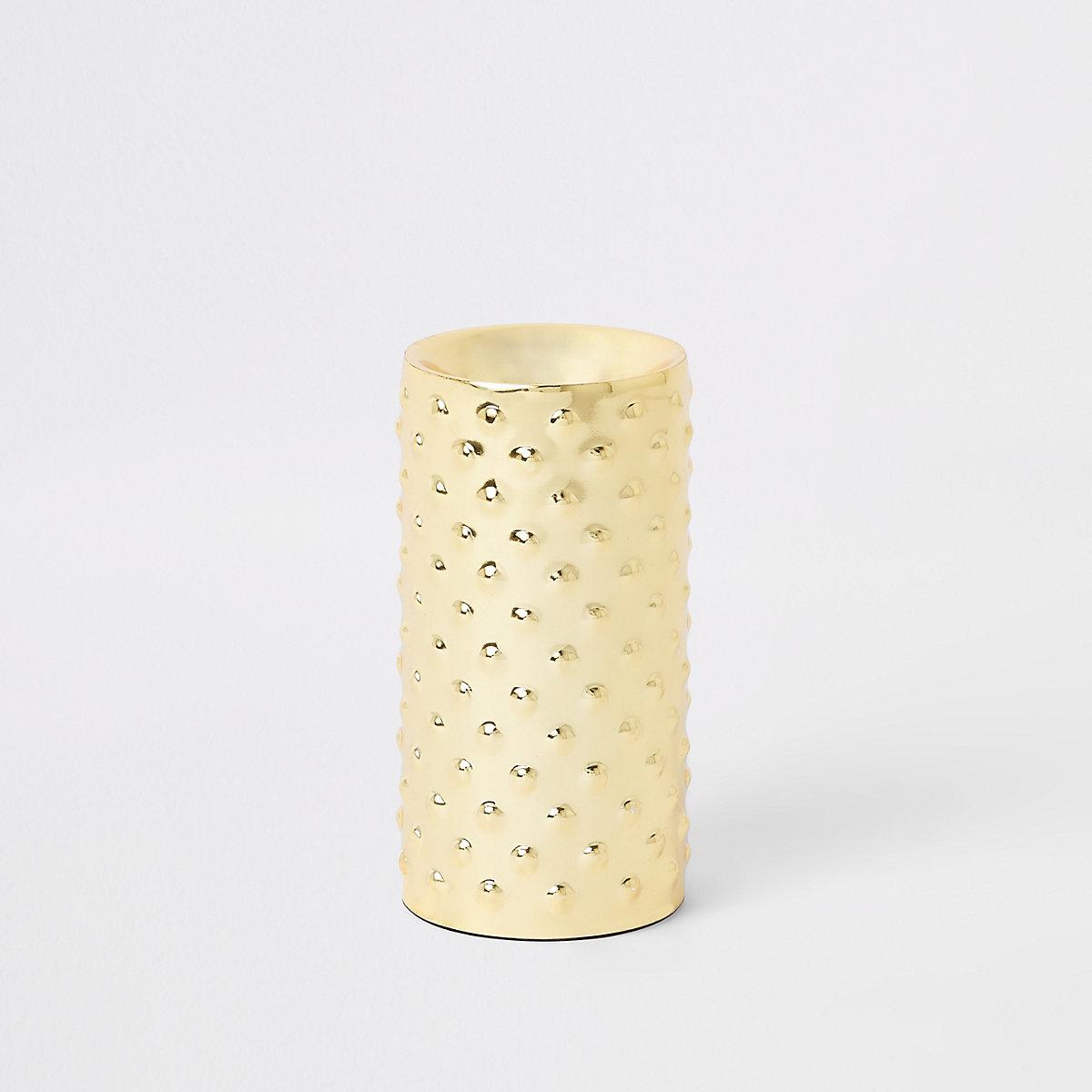 Medium gold tealight holder