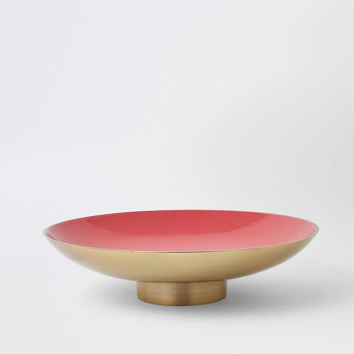 Gold bowl with stand