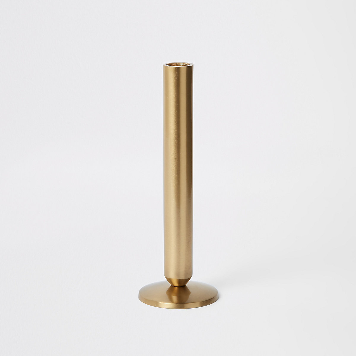 Large gold candle holders
