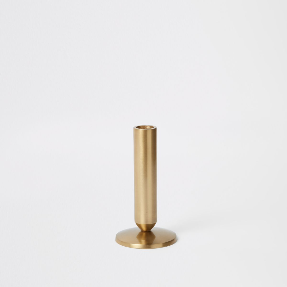 Small gold candle holders