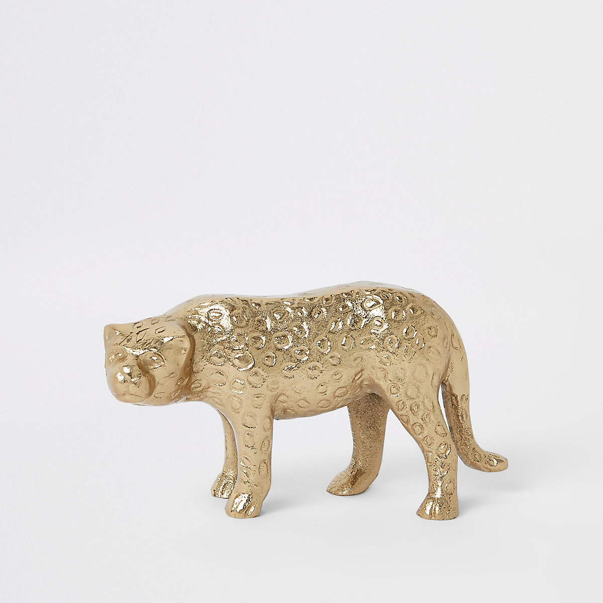 Gold panther ornament