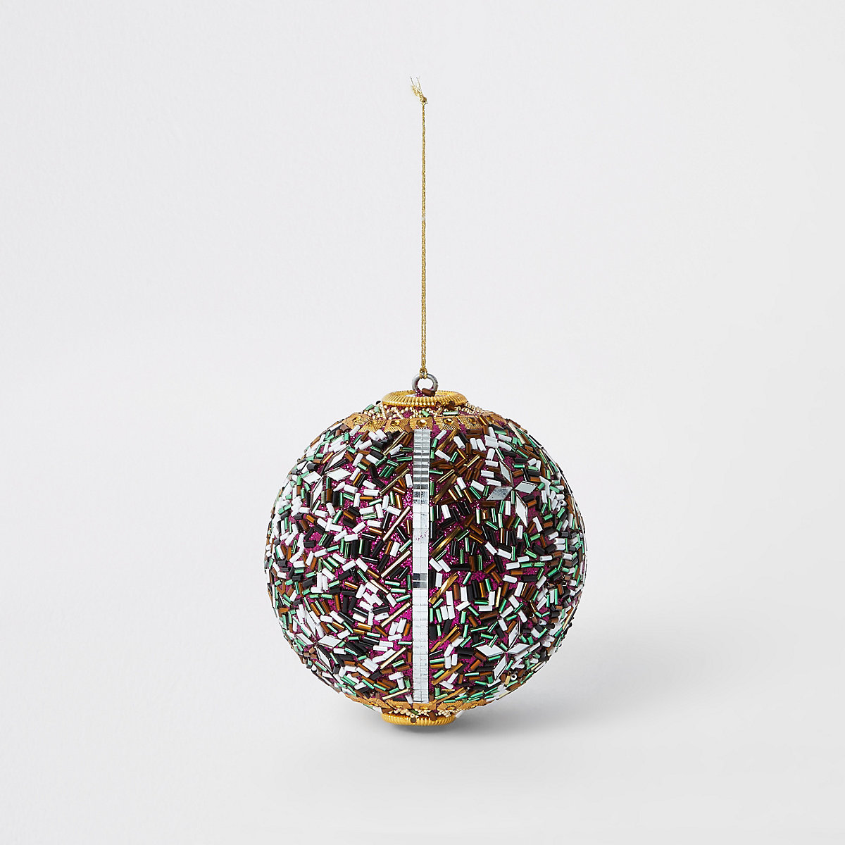Large multi bling bauble