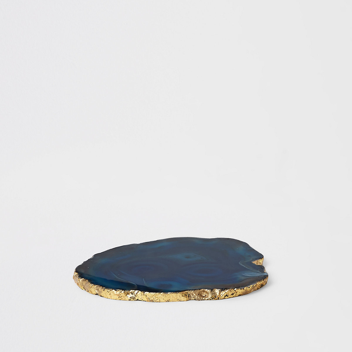Blue agate coaster