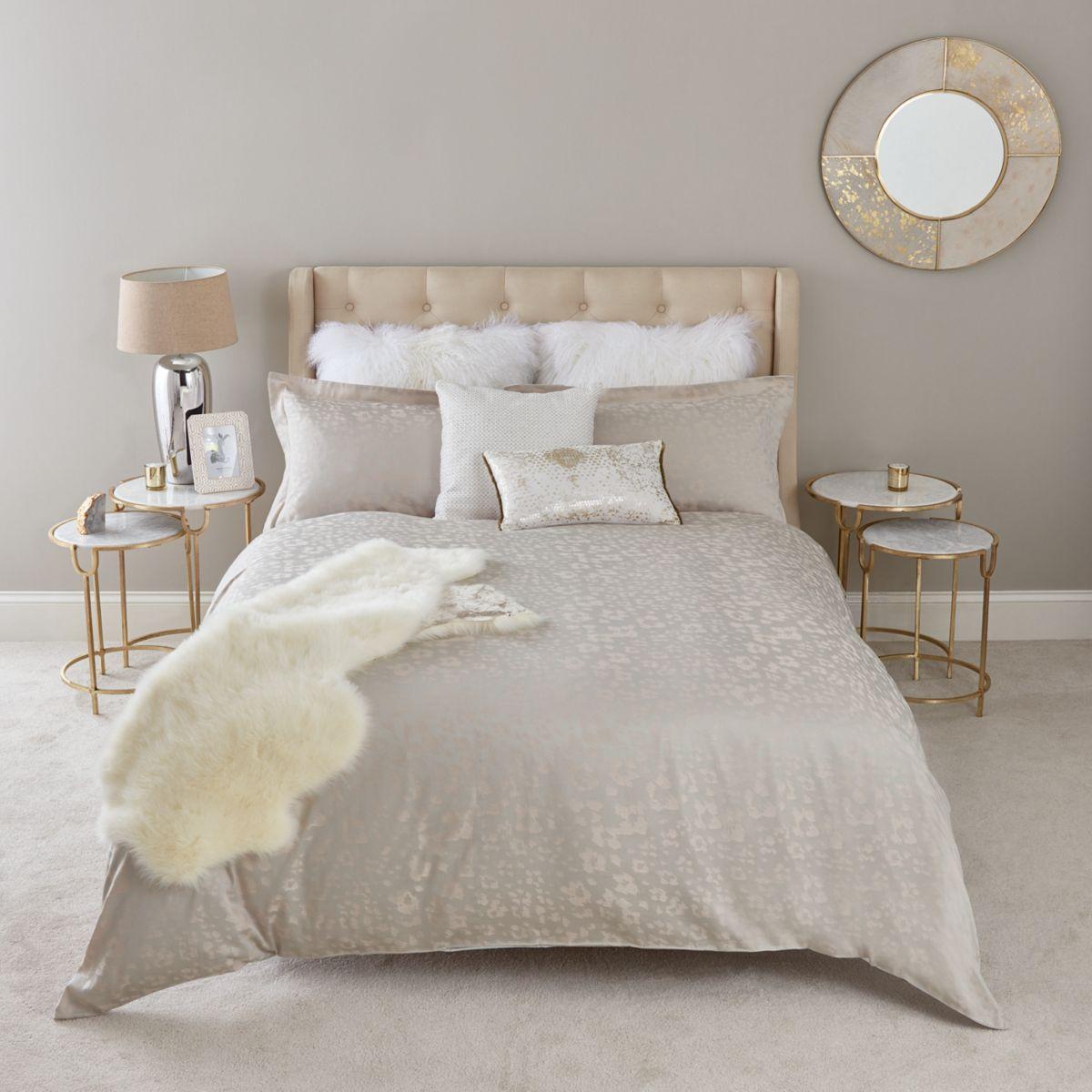 Pink leopard super king duvet bed set