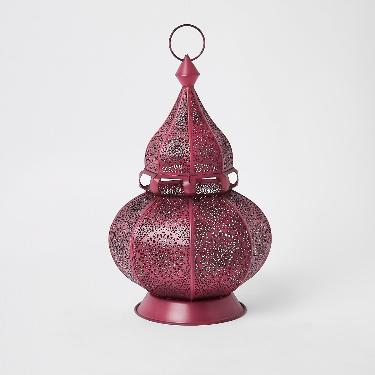 Pink decorative genie lantern
