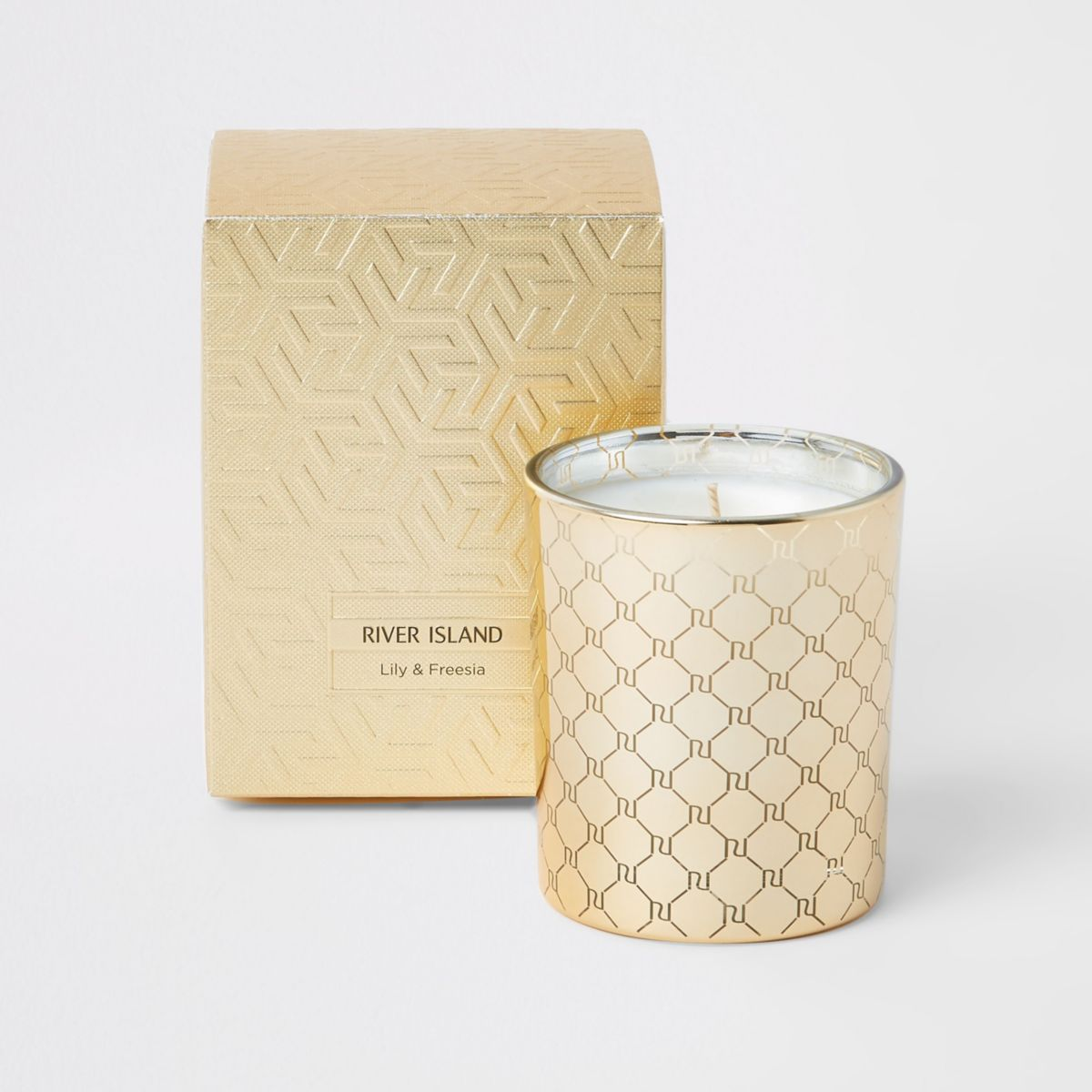 Orange & cedarwood monochrome candle
