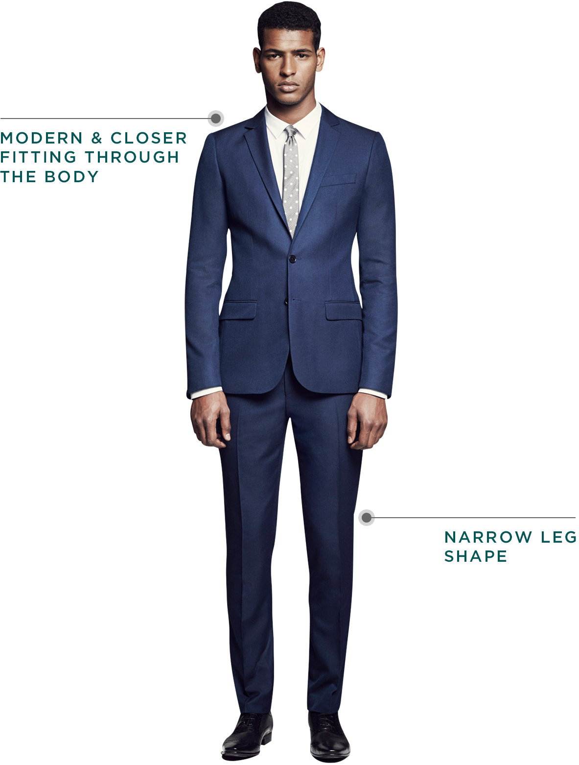 29733de4576 Skinny - Suit Guides - River Island