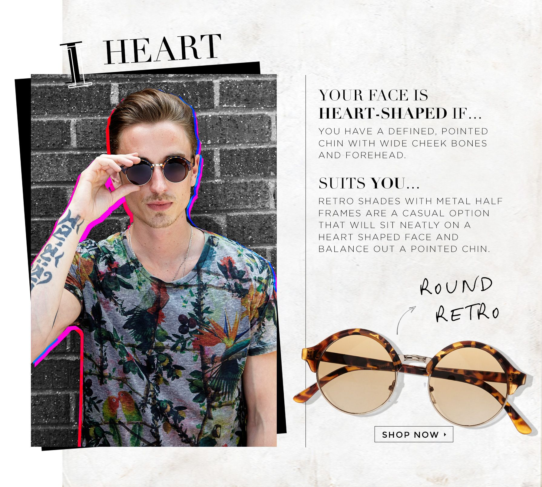 YOU\'VE BEEN FRAMED: FIND THE PERFECT SUNGLASSES FOR YOUR FACE SHAPE ...