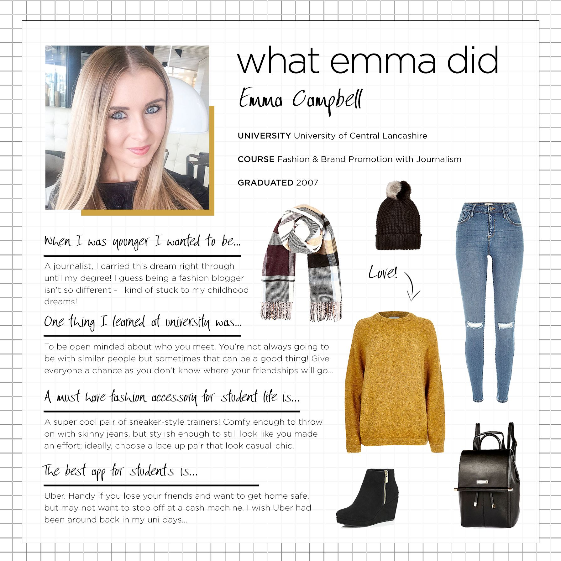 WHAT EMMA DID