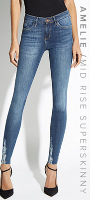 AMELIE / MID RISE SUPERSKINNY