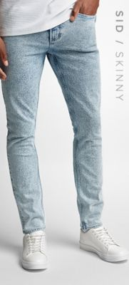 SID / ENGE STRETCH-JEANS
