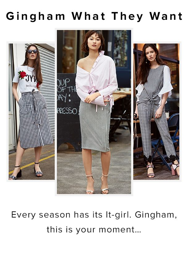Gingham what they want