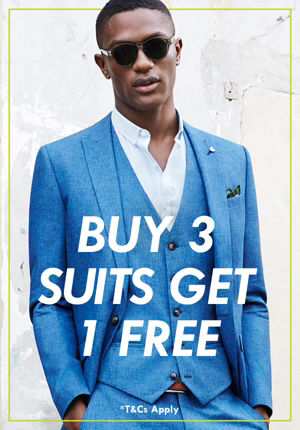 Buy 3 Suits, Get 1 Free