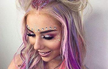 Glittergoals: hoe stijl je glitter in het festivalseizoen