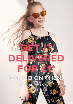 GET IT DELIVERED FOR £1*